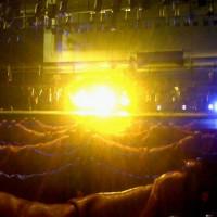 Le test des lumières... tout est encore au sol