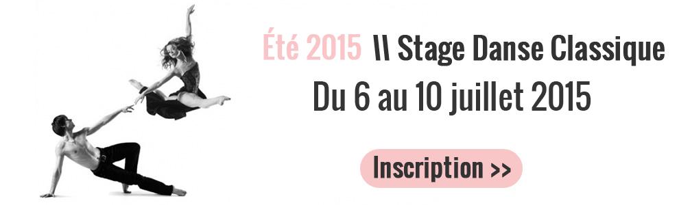 stage danse classique ete 2015